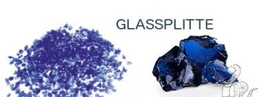 Glassplitte