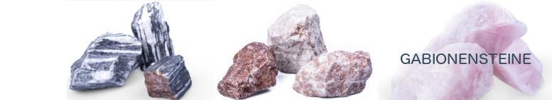 Gabionen Steine